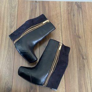 Rachel Rachel Roy Camino Wedge Ankle Boots
